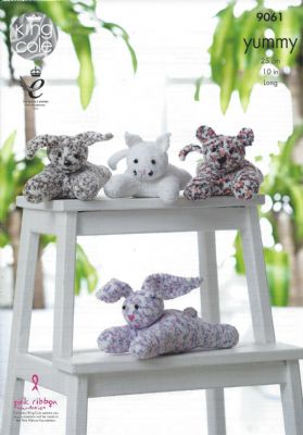 King Cole - 9061 Laying Toys Knitting Pattern